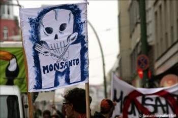 Vignetta contro Monsanto