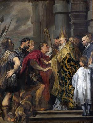 Imagem de Santo Ambrósio, pintura, #2