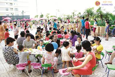 Cộng đồng cư dân văn minh khu đô thị Dương Nội