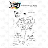 Roses In Bloom Stamp Set