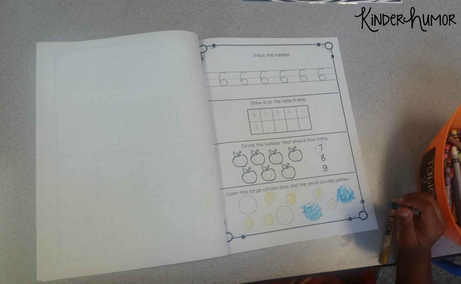 Kinder Humor Daily Spiral Math Review In Kindergarten