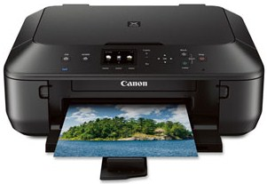 One printer with an excellent design and provides a combination of high performance and ha Canon Pixma MG5520 Driver Download