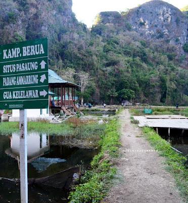 Petunjuk jalan Rammang-Rammang, Maros, Sulsel +jelajahsuwanto