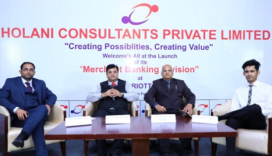 jaipur, rajasthan, Holani Consultants, Holani Consultants pvt ltd, Merchant Banking Sector, SME, IPO, business news, jaipur news, rajasthan news