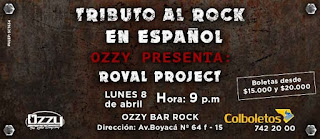 TRIBUTOS Rock en Español