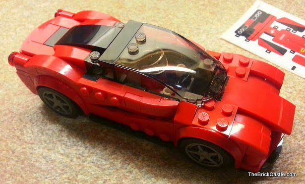 LEGO Speed Champions Ferrari set 75899 LaFerrari model car