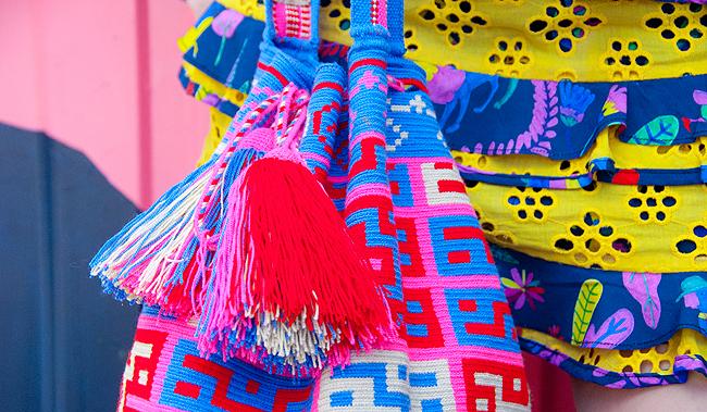 wayuu bag, mama tierra, craftmanship