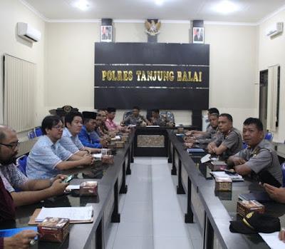 Kakan. Kemenag Tanjungbalai Hadiri Rakor OPS Bina Waspada Toba 2016