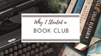 Why I started a Book Club