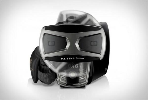 DXG 3D Camcorder requires no 3D glasses