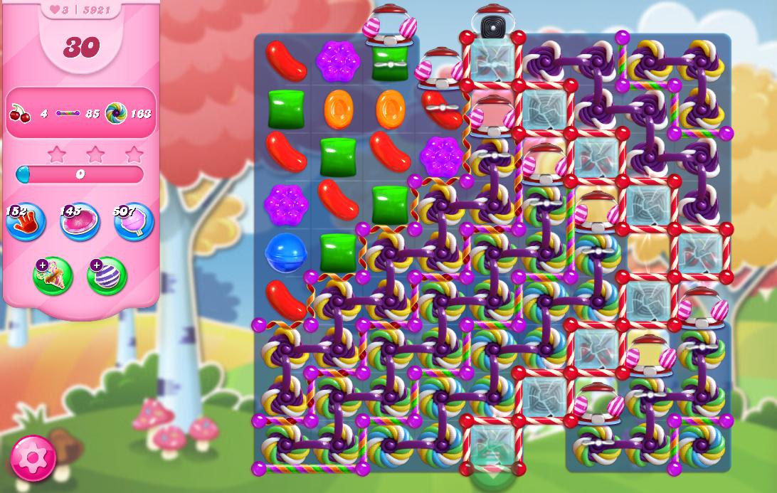 Candy Crush Saga level 5921