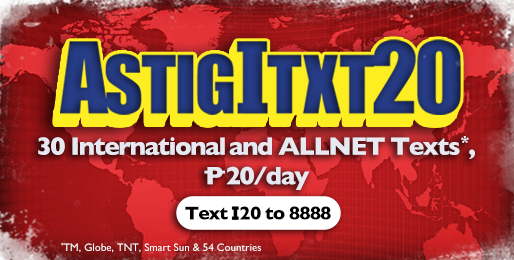 TM ASTIGITXT20 International Text promo
