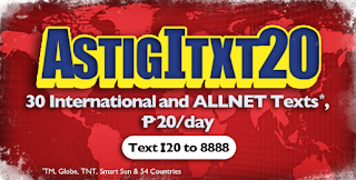 TM ASTIGITXT20 International Text promo