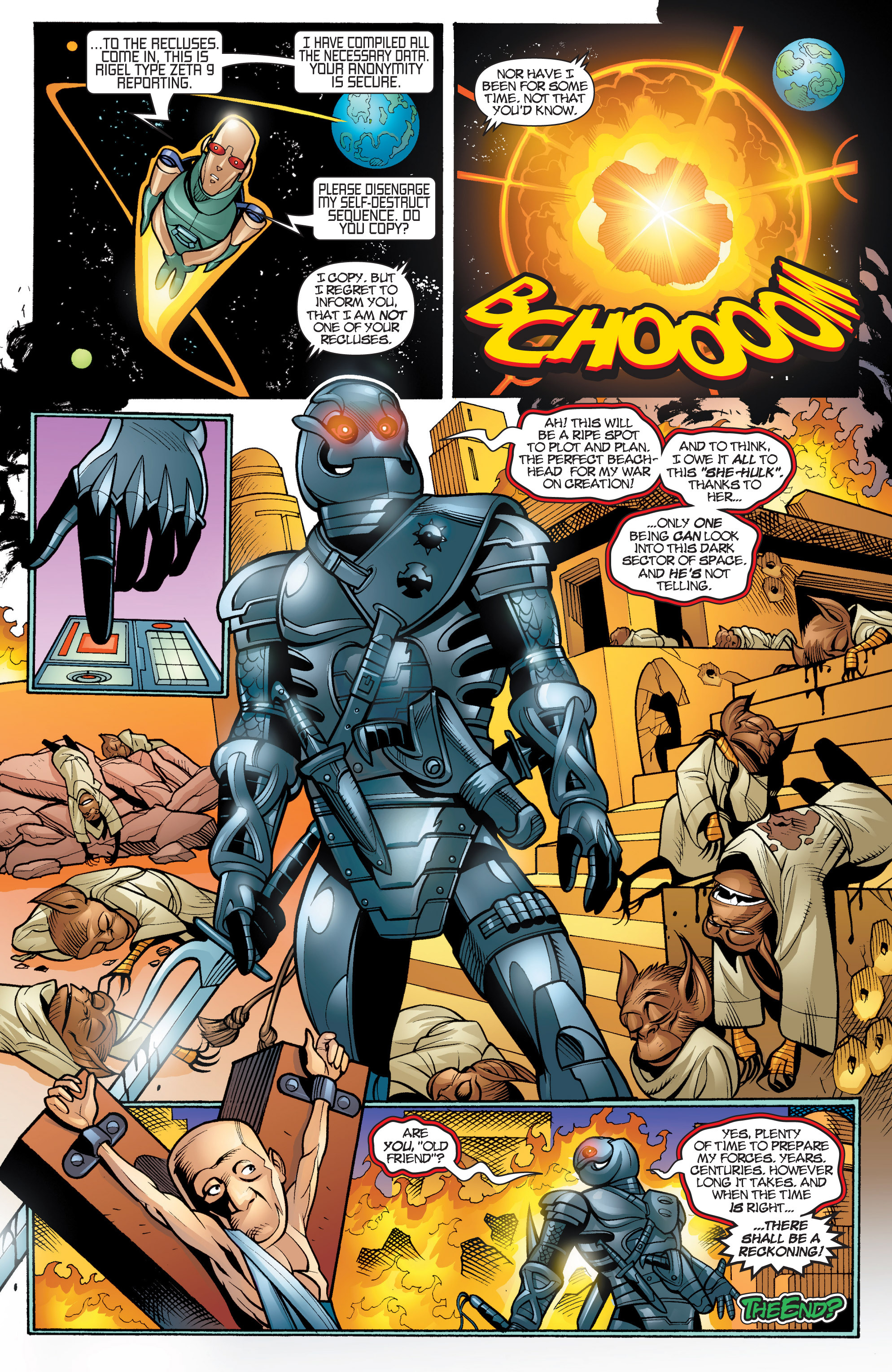 Read online She-Hulk (2005) comic -  Issue #20 - 23