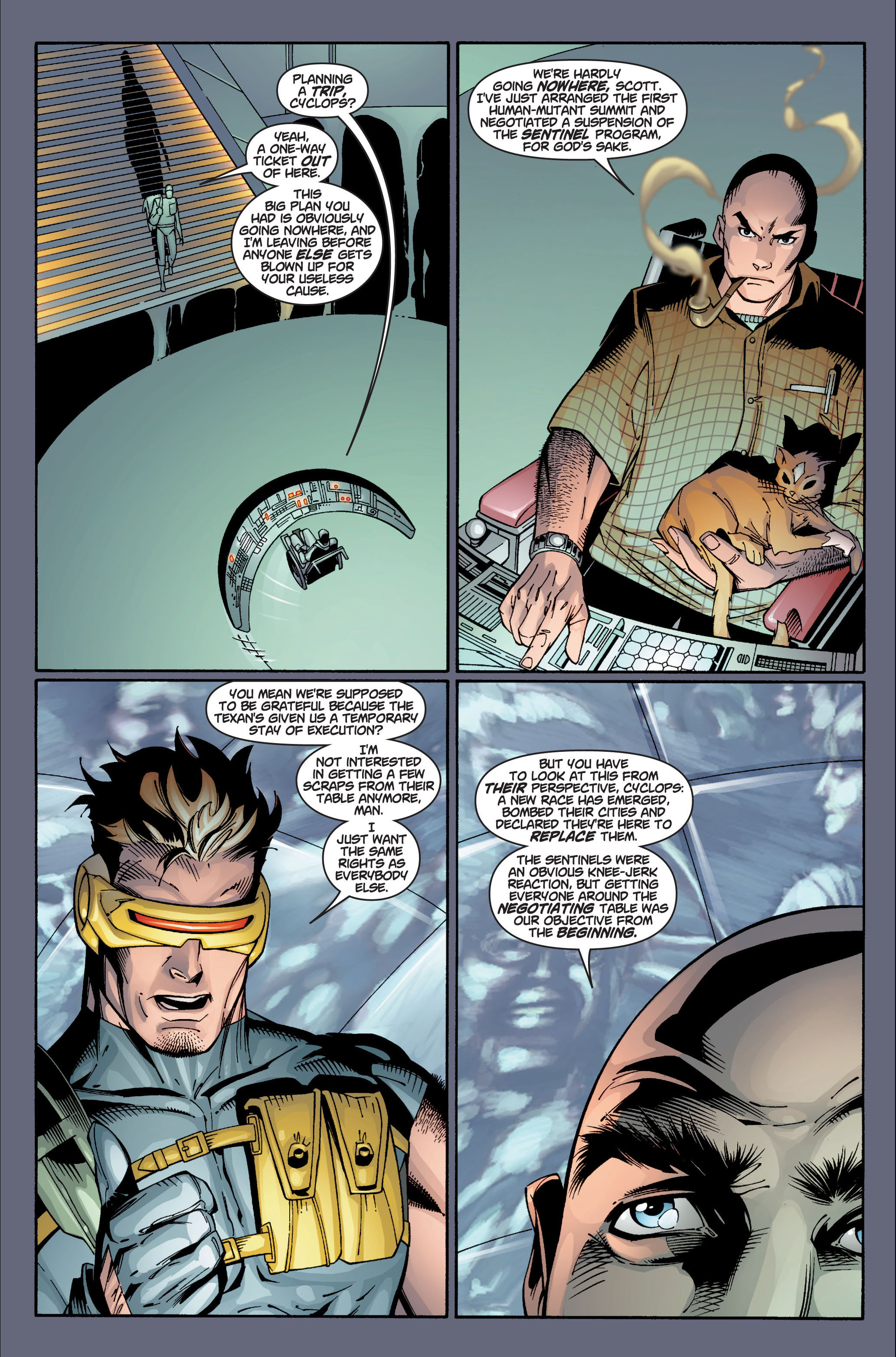 Read online Ultimate X-Men comic -  Issue #4 - 16