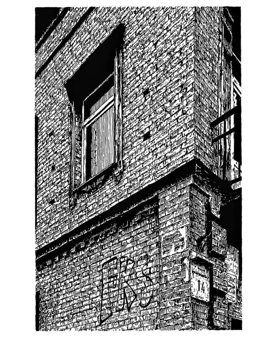 04-Brickwork-Detailing-Natali-M-Drawings-of-Buildings-with-Architectural-Details-www-designstack-co