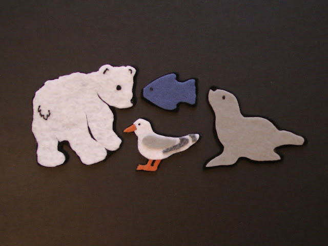 Flannel Board There was a little Polar Bear