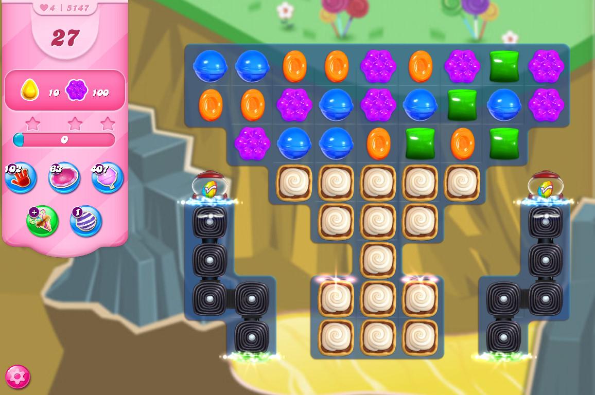 Candy Crush Saga level 5147