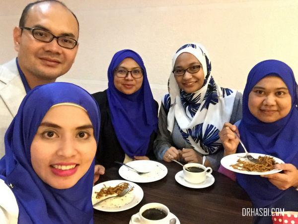 Adibah Karimah, Raden Nazarina, Zahirine, Noraini