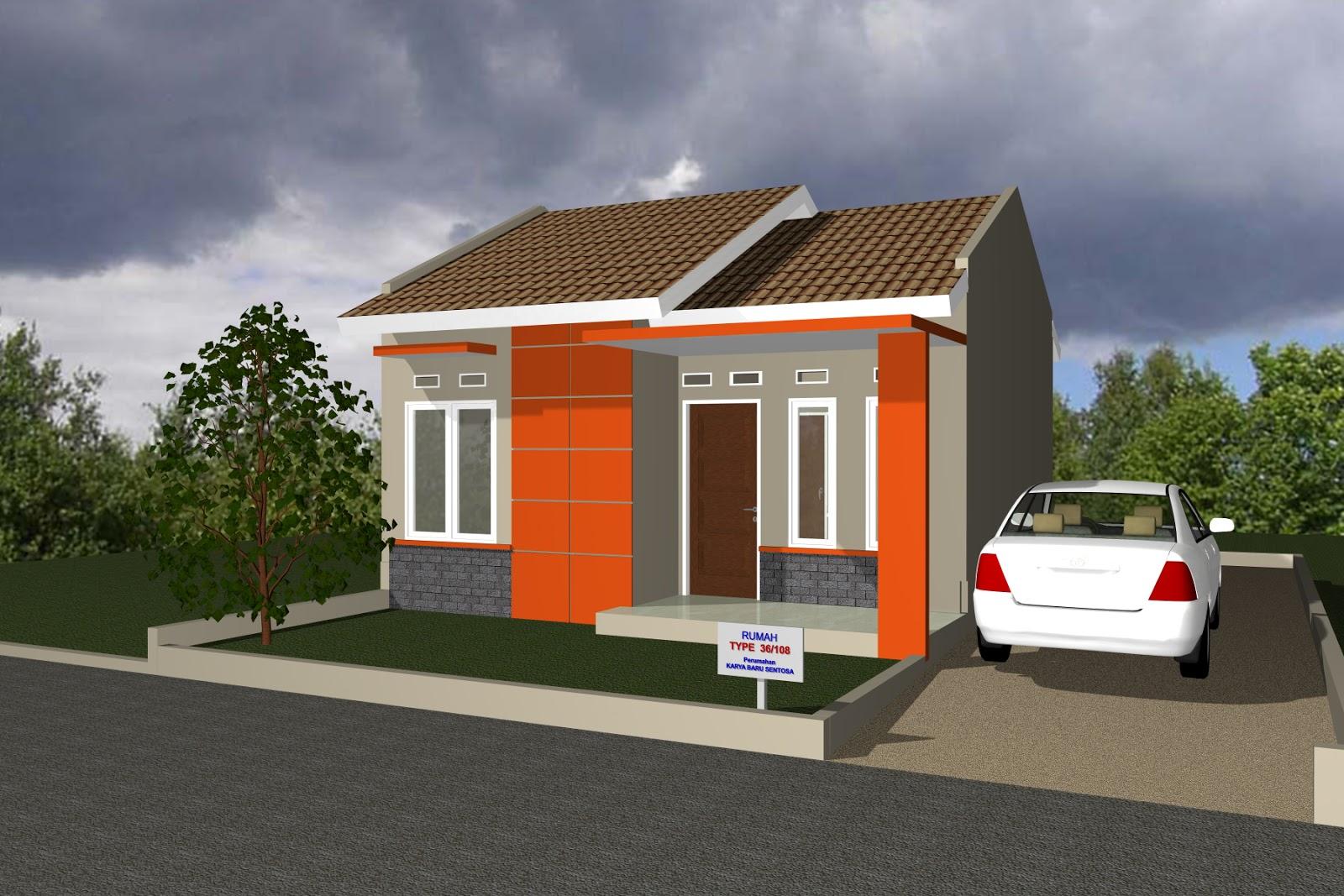 Rumah minimalis type 36 di pekanbaru
