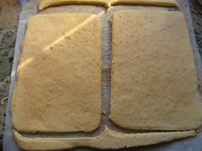 Tarta de flan y bizcocho Thermomix