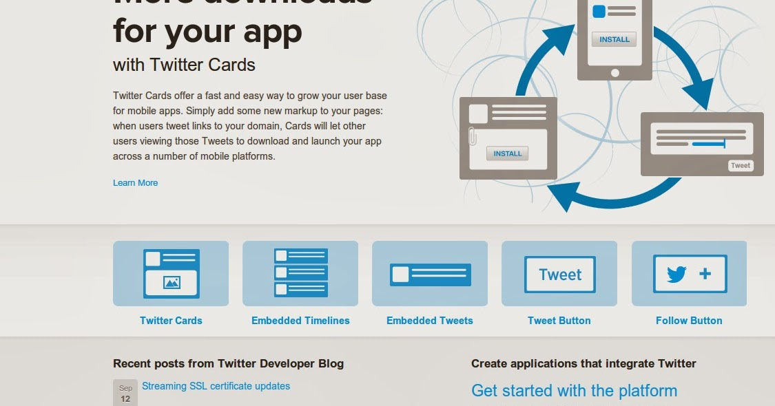 Knowledge Corner How To Create Twitter App