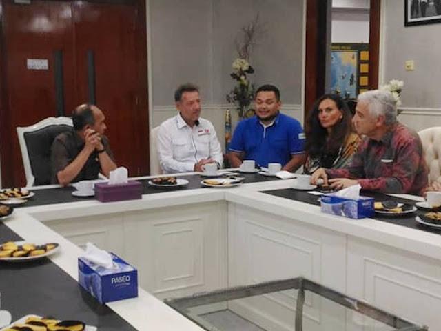 Siap Kembangkan Kelistrikan di Provinsi Maluku, Ufuk Berk Temui Said Assagaff