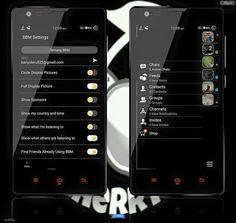 BBM Mod Mi Dark v2.13.1.13 Apk Clone