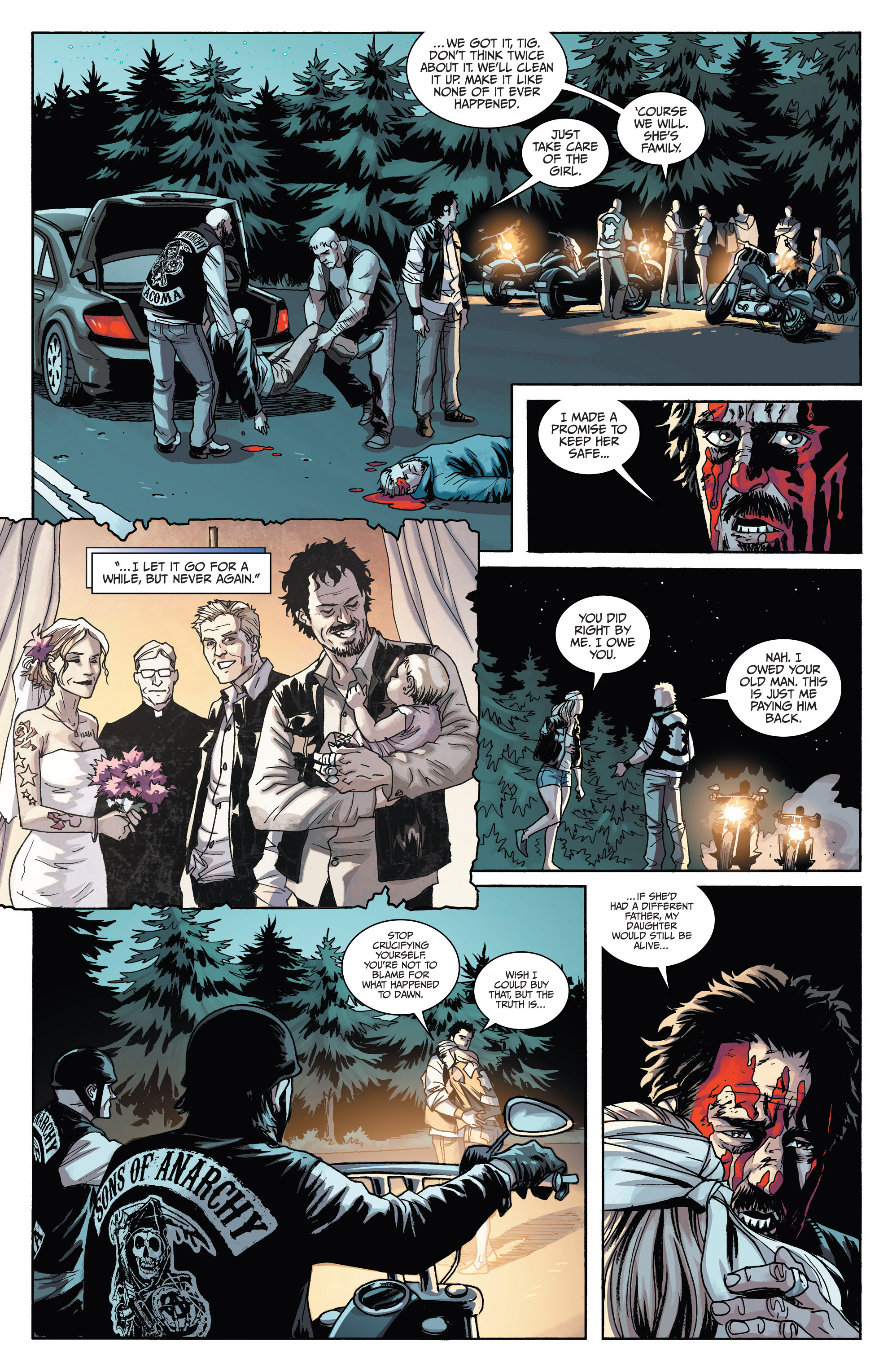 Read online Sons of Anarchy comic -  Issue #6 - 25