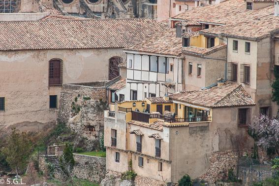 Terraza del Restaurante El figón del Huecar. Cuenca