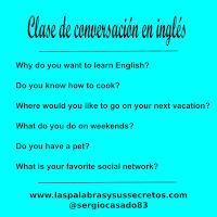 inglés, aprender inglés, conversación en inglés, preguntas inglés, inglés online, profesor de inglés, curso de inglés