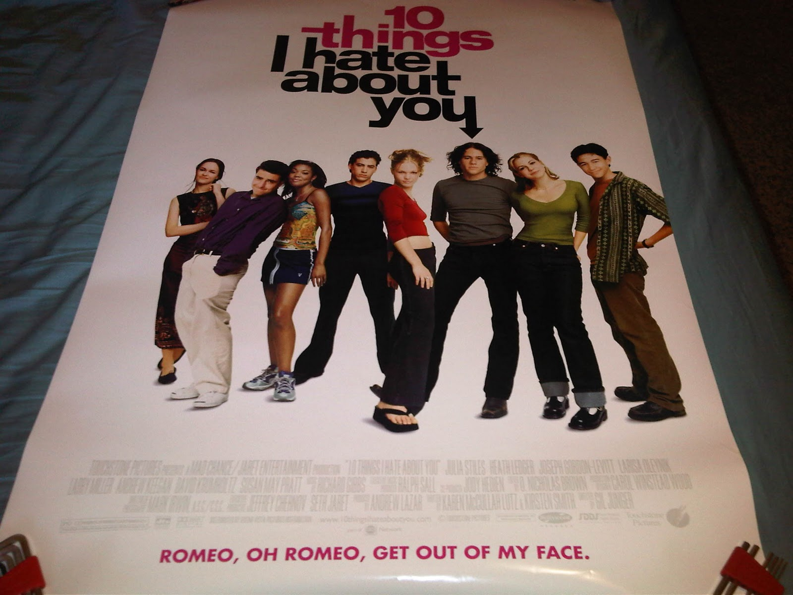 10 Things I Hate About You Movie Poster: AUTHENTIC MOVIE POSTERS