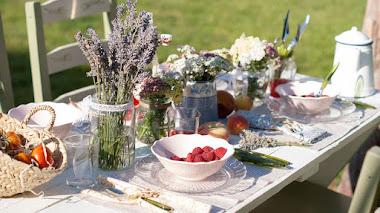Decorar una mesa inspirada en La Provenza