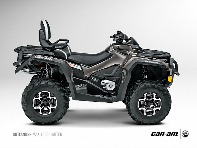 2016 CAN AM OUTLANDER MAX LIMITED 1000 R