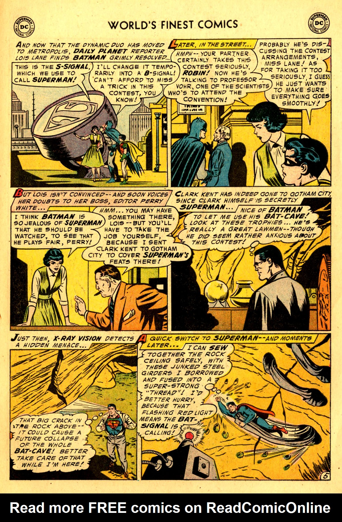 Read online World's Finest Comics comic -  Issue #76 - 7