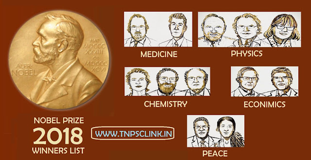 Nobel Prize Winners List 2018 pdf download