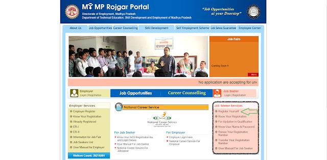 Madhya Pradesh Berojgari Bhatta Registration,Madhya Pradesh Berojgari Bhatta Application form,Madhya Pradesh Berojgari Bhatta last date, Madhya Pradesh