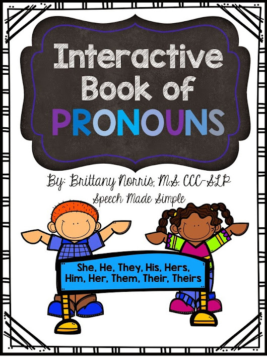 Interactive Book of Pronouns!