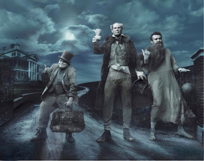 Annie Leibovitz | The Three Ghost, Image Courtesy http://mymodernmet.com/annie-leibovitz-disney-dream-portraits/