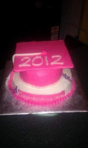 CAKE CREATIONS BY CIA Girl Graduation Cake