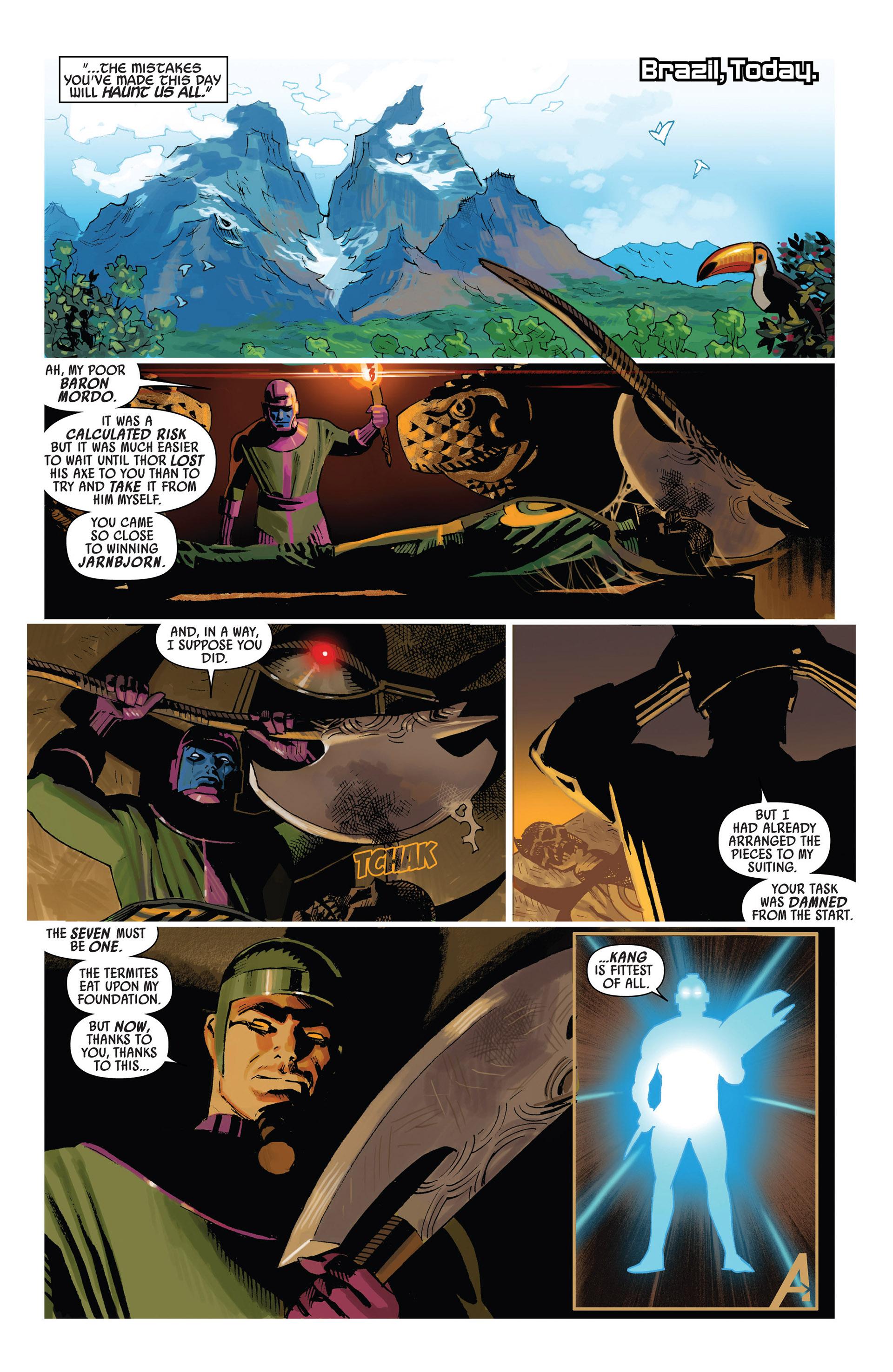Read online Uncanny Avengers (2012) comic -  Issue #6 - 21
