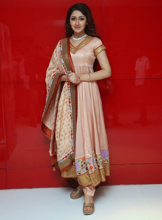 Actress Sayesha Saigal Stills Tamil Film Audio launch