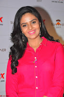 Sree Mukhi in Pink Kurti looks beautiful at Meet and Greet Session at Max Store (7).JPG