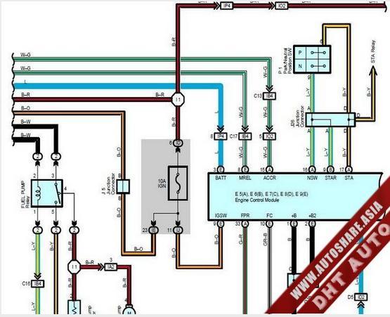 Lexus Gx470 2004 Wiring Diagram
