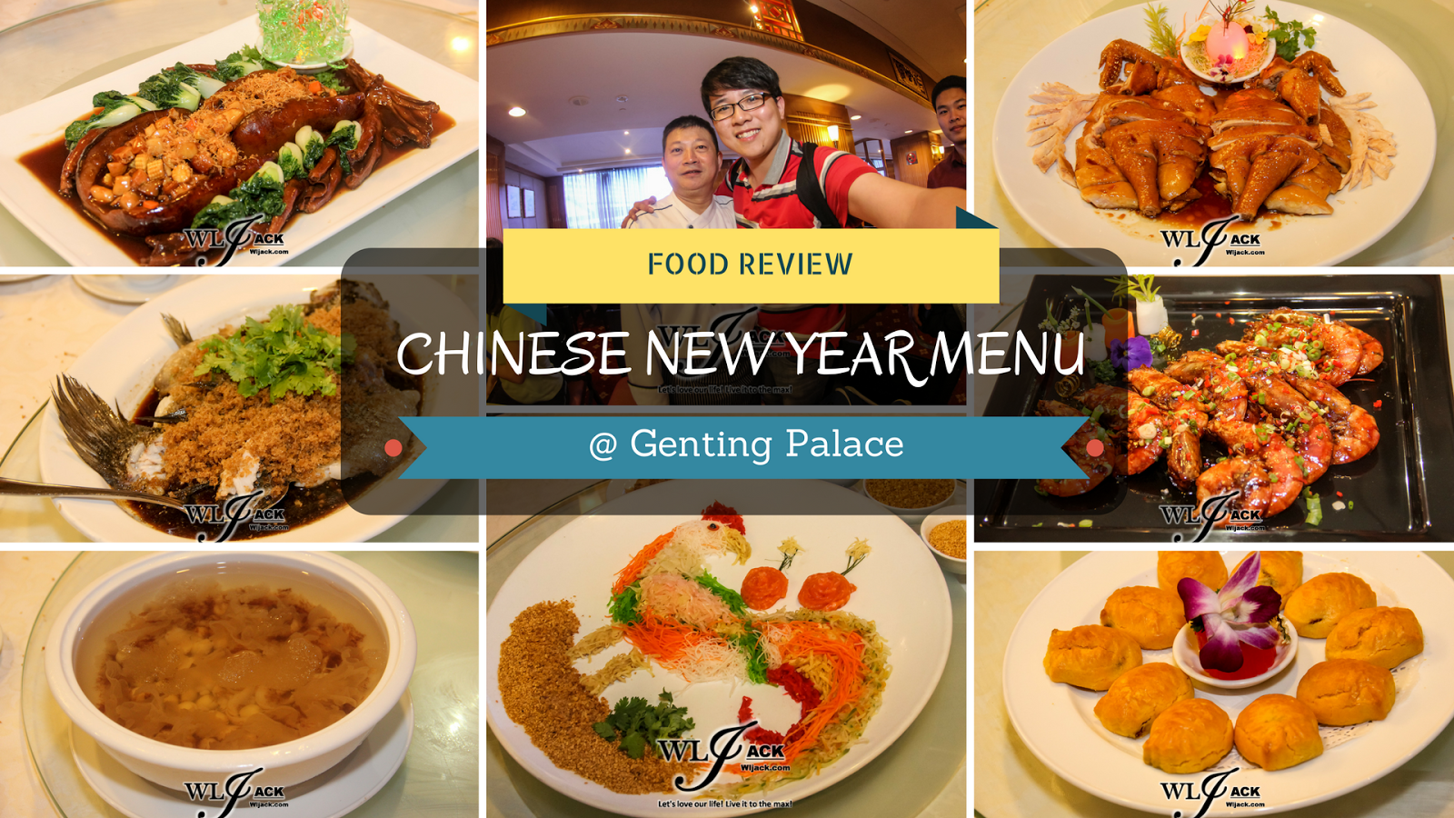 Food Review Chinese New Year Menu @ Genting Palace 云华宫 ...