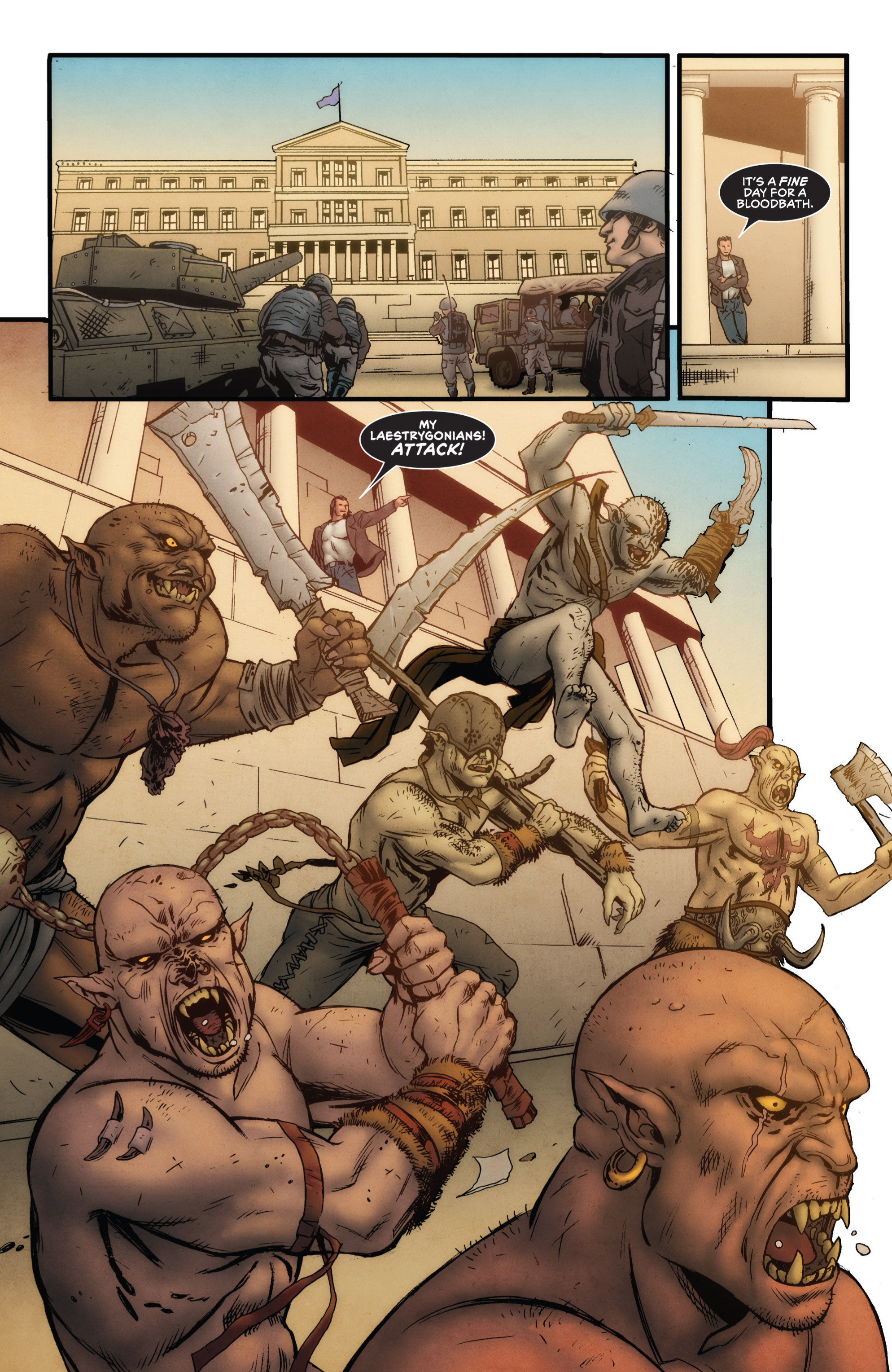Read online Grimm Fairy Tales presents Grimm Universe comic -  Issue # TPB - 21