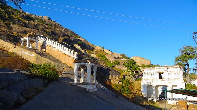 Trekking to the Shivaganga Hills, Dabbaspet, Bengaluru