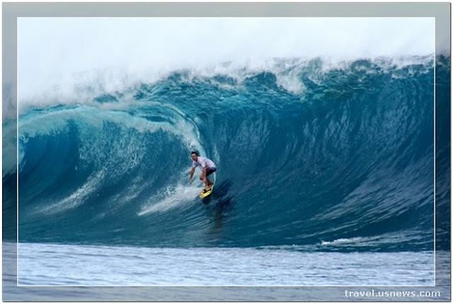 Tahiti Surfing Spots - Top 7 Best Places to Travel in Tahiti at Least Once in Your Life Time