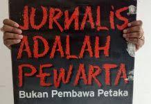 Jurnalis Lokal di Pesbar Terkesan Dikesampingkan