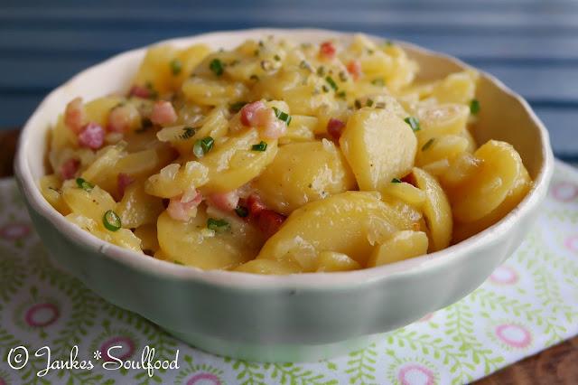 Glitschiger Kartoffelsalat